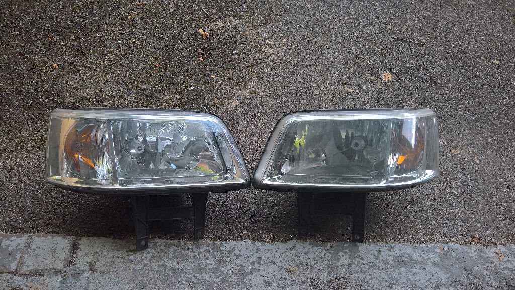 Vw Transporter T5 Head Lights 2004 2010
