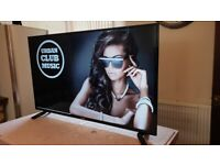 TCL 55 INCH SMART 4K UHD HDR LED TV WITH WIFI, FREEVIEW & FREESAT HD,
