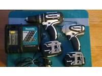 Makita lxt 18v li-ion combo set impact driver & hammer drill