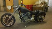 Softail 300mm fat tire chopper