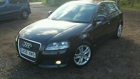 Audi A3 1.9 tdi sportback low milage £ 30 Tax per year