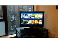 """42"""" LG TV and stand"""
