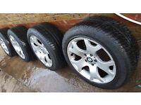 BMW 19 inch alloys with New Tyres