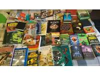 Over 70 books dvds and pc/ playstation games