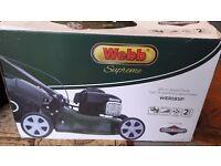 New webb supreme self drive lawnmower