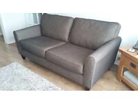 Immaculate 2 Seater Sofa and Single Armchair (Mocha Colour)