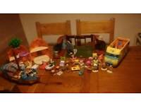 Spongebob playsets INCOMPLETE