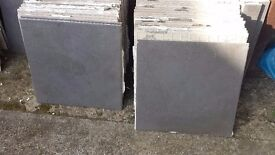 WALL OR FLOOR TILES IN GOOD CONDITION 330mm x 330mm x 6mm PATTERNED