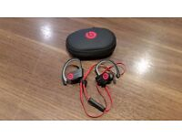 Beats by Dre PowerBeats 2 Wireless Sports Headphones - Black