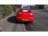 For Sale 1.8l Seat Leon (2000 reg)