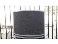 OHM 250W Medium Speaker in Black only 1 speaker