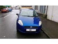 (Quick Price) Fiat Punto Grande 5 Door 1.2 2006 **Long MOT**
