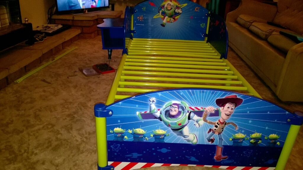 Buzz Lightyear Toddler Bed In Coventry West Midlands