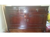 Beautiful old antique sideboard dresser