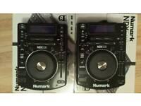 Numark Ndx500 cd decks Dj Cdj