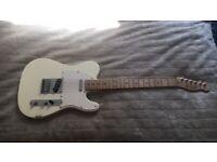 Fender Squier Telecaster electic guitar (arctic white)