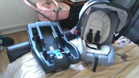 Graco baby seat and base (bnwt)