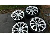 18 inch Vauxhall alloys pcd 5x110