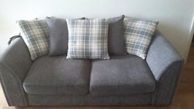 3 seater 2 seater and swivel perfect condition
