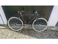 Vintage Raleigh single speed town bike