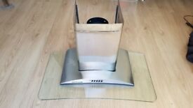 Rosieres HVM 900 IN Stainless Steel & Curved Glass Cooker Hood