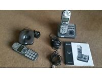 Amplicomms Powertell 780 2 phones and answering machine