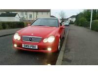 LOW MILES & LONG M.O.T MERCEDES-BENZ C200 COUPE