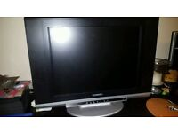 Technika 20 inch LCD TV with remote. Can be used as PC Monitor