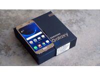 SAMSUNG S7 GOLD/ UNLOCKED / 32 GB/ VISIT MY SHOP. / GRADE A / WARRANTY + RECEIPT