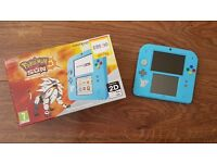 Nintendo 2DS Console Pokemon Sun Limited Edition Boxed! 3DS