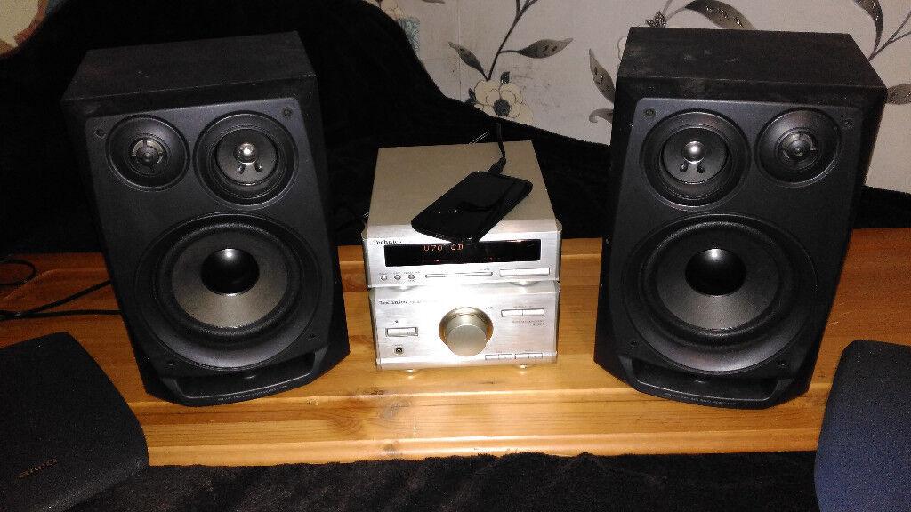 Technics Amp stereo+Speakers