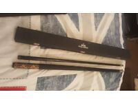 9 ball cue and hard case