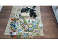 Xbox 360 Knect + huge games selection incl. Skylanders Trap Team and many figures