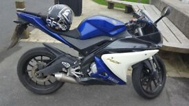Yamaha yzf r125 for sale need it gone as i have a car and dont use it.