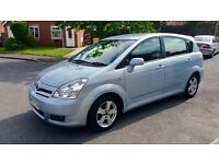 TOYOTA COROLLA VERSO 2.2 D4D DIESEL MOT 12 MONTHS 2 KEYS EXCELLENT CONDITION 7 SEATER 6 SPEED £2990