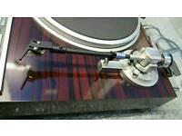 Elite PIONEER PL-707 Turntable Record Player MOVING COIL + Original Pioneer Manual - RARE