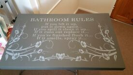 Bathroom Canvas Pictures