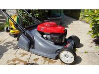 "Honda HRX 476 QXE 19"" Roller Lawn Mower (px ride on mower)"