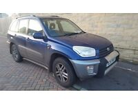 Toyota Rav4 GX VVTI, 1998cc,2002, 2 Owners ,hpi clear!excellent condition