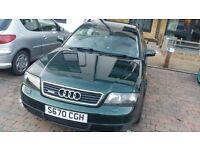 Audi A6 2.5l TDI Quattro Automatic for sale - Spares or Repairs. Mot till nov 2016