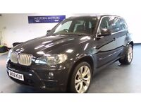 2008 08 BMW X5 3.0 SD M SPORT 5D AUTO 282 BHP DIESEL *FSH*2 YEARS WARRANTY*FINANCE AVAILABLE
