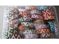 Brand new diamanté bangles for sale