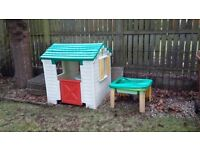 Wendy House and Portable Sand Table