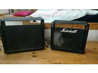 Marshall speakers in cabs