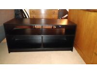 TV Media Unit/Stand, Black, Excellent Condition