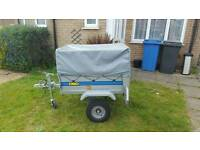 DBD SMALL CAR TRAILER CAMPING TRAILER.