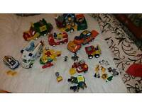 Wow toys/toddler toys/recycling truck, ambulance, fire engine