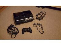 Playstation 3 (good condition) with games