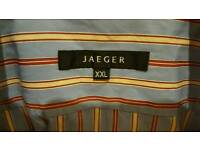 Jaeger mens striped shirt xxl.