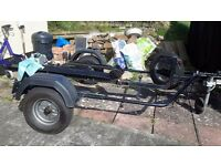 RoRo Easy load Motorcycle Trailer